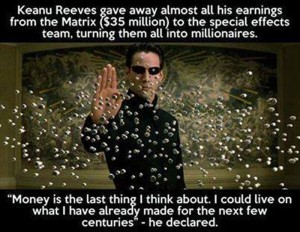 Keanu The Selfless Immortal