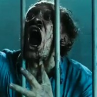 Caged Zombie