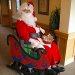 Is Santa Claus Doing Well After Being Injured?
