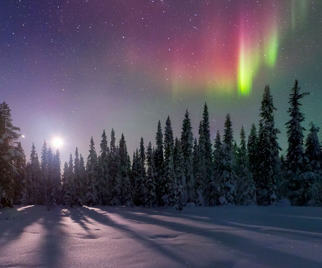 Does santa claus live at the geographic or magnetic north pole claus award nomination north pole village christmas 2013 sciox Image collections