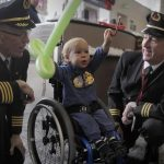 Seriously Ill & Abused Children Fly To North Pole To See Santa Claus