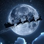 Has Santa Ever Flown Into Outer Space?