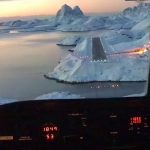 Landing At North Pole City Airport