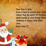 Kids In The Supernatural World Write Santa Claus