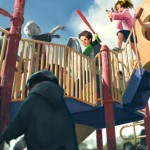 Children Of Parallel Universe Fight Playground Zombies