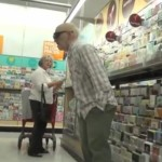 Old Man Farter Halloween Costume Prank