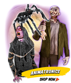 Halloween Haunted House And Graveyard Animatronic Decor
