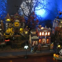 Halloween Island Village