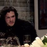 Jon Snow Crosses Into Our Reality To Attend A Dinner Party