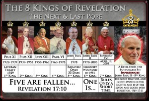 The Eight Pontiff Kings Of Revelations