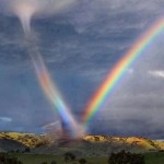 Tornado Rainbow Caused By Leprechaun & Unicorn