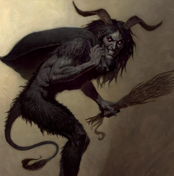 Dark Christmas Krampus Warning!