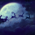 Christmas Yule Moon Alert