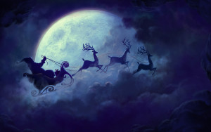 Christmas Yule Moon Magic